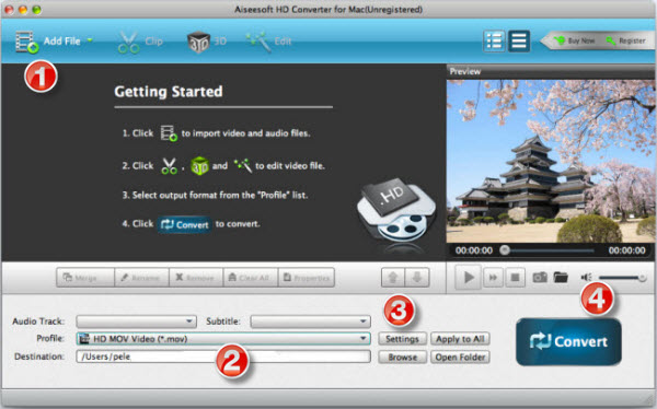 DigiLand DL 7 Video Converter-Convert Video and Movie to