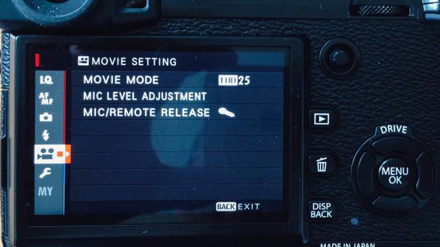 transcode Fujifilm X-Pro2 recording for editing in iMovie