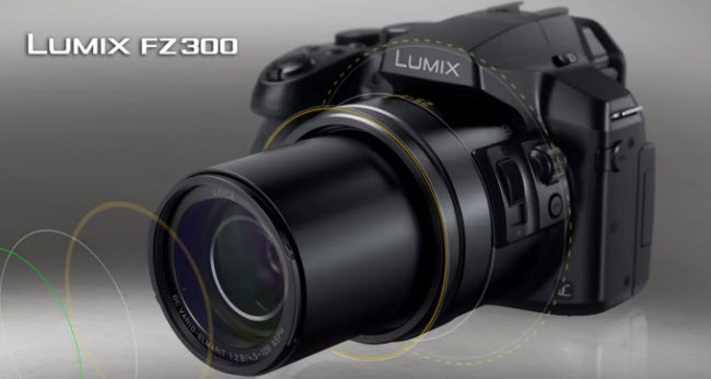 import and edit Panasonic Lumix DMC-FZ300 4K MP4 files in Corel VideoStudio