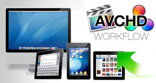 avchd to ipad workflow