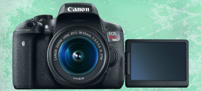 loading Canon T6i/750D MP4 recordings into FCP X