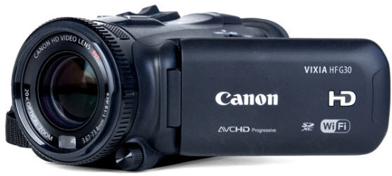 import Canon G30 MTS clips into iMovie