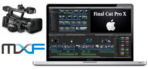edit Canon XF300 MXF in FCP X/7 without folder structure