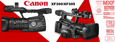 converting Canon XF300/305 MXF files for Adobe Premiere and Sony Vegas
