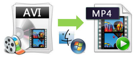 convert video from avi to mp4