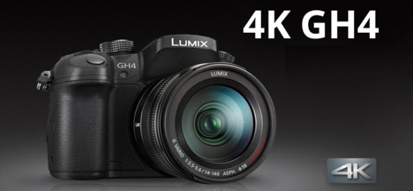 editing Panasonic GH4 4K MOV/MP4 footage in Avid