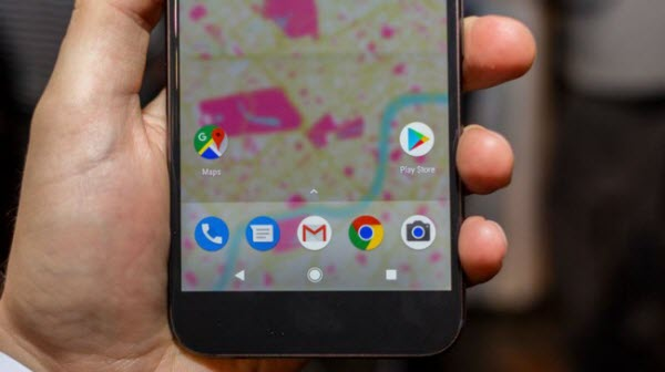 retrieve videos from Google Pixel XL