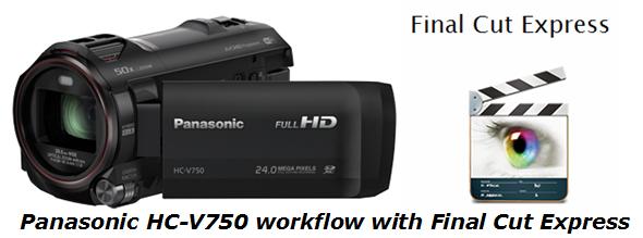 hc-v750 and fce