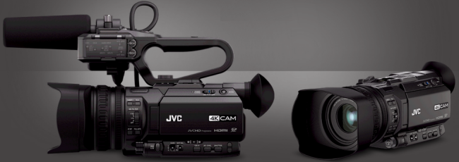 transcode JVC 4K video files