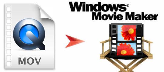 canon mov to windows movie maker