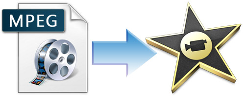 loading MPEG files to iMovie