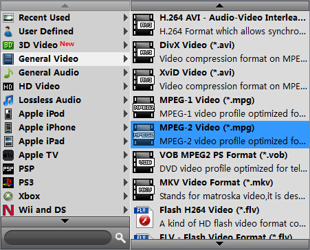 issues transferring MKV movies to TiVo