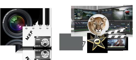import MXF files into iMovie'11