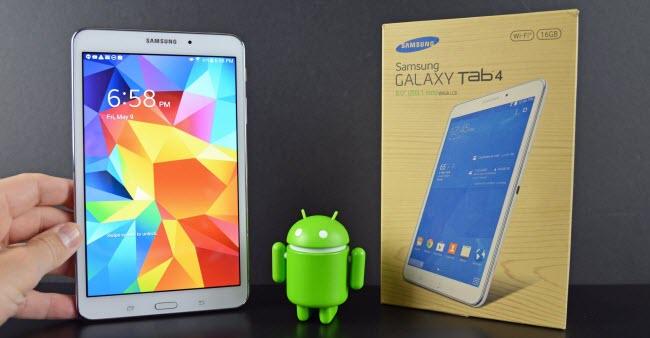 does Samsung Tab 4 8.0 play AVI movies