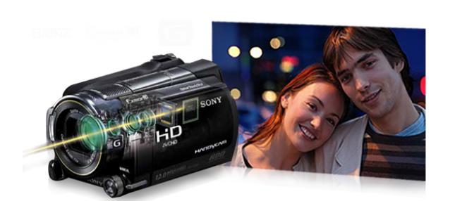 Sony CX 550