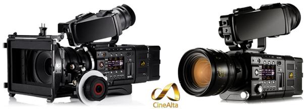 sony f55 and f5 camera