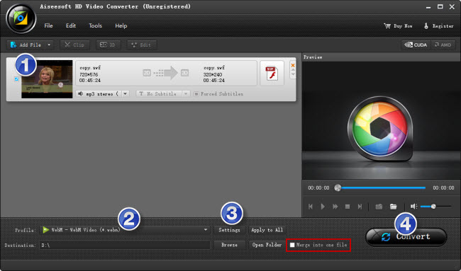 the best SWF to WebM Converter software