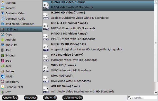convert TiVo recordings to MP4