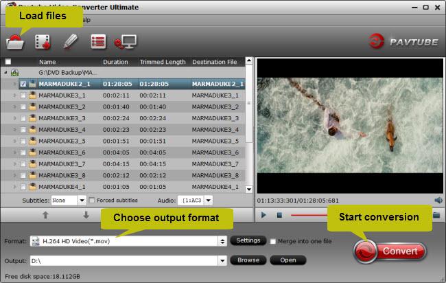convert video_ts to mov, wmv