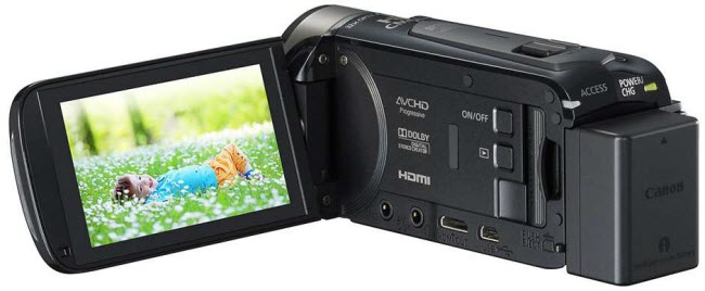 import Canon VIXIA HF R50 AVCHD footage into iMovie